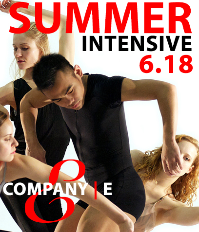 Breaking Bounds 4.Company |E's Fourth Annual Summer Dance Intensive. June 4 - 16, 2018