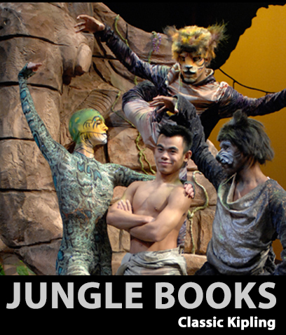 "Company | E's signature family concert based on Rudyard Kipling's ""Jungle Books."""