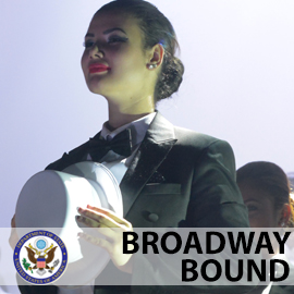 Broadway Bound - celebrating the Broadway experience with artists from around the globe.